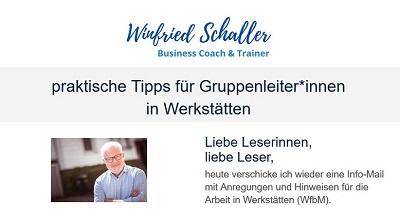 Bild Info-Mail Winfried Schaller